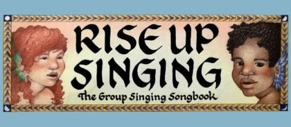 Rise Up Singing The Group Singing Songbook cover image with two cherubs